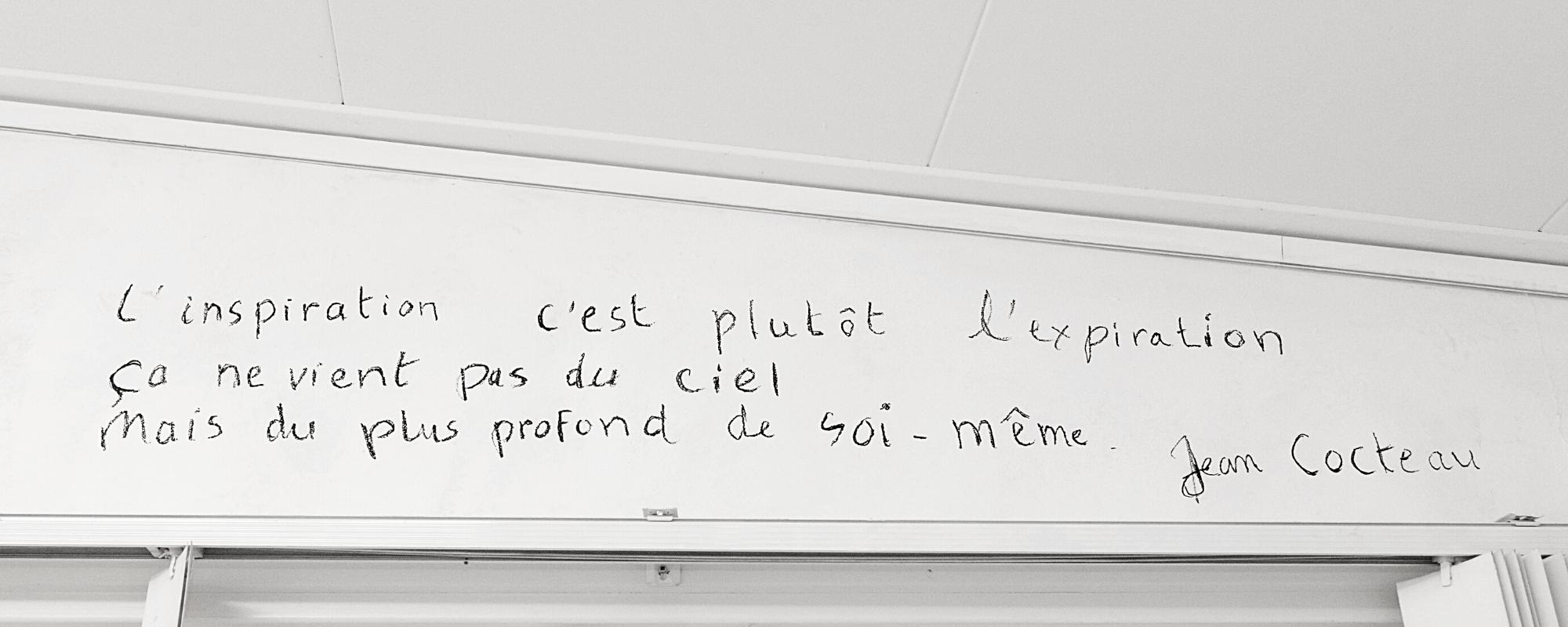Citaat Inspiratie Jean Cocteau